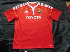 Munster Rugby Pro12 Celtic League 2009-2010 shirt jersey ADIDAS Toyota adult XXL