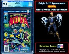 🔥 NOVA #1 CGC 9.4 WHITE PAGES 🔥 DON'T SETTLE FOR LESS THAN RARE PERFECT WRAP