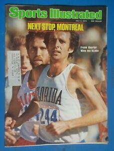 1976 Sports Illustrated Magazine July 5 Track Frank Shorter Florida Olympic Tria