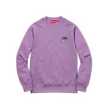 New Sold Out Supreme New York Don't Be a Dick Crewneck - Dusty Lavender - Medium