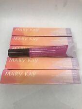 5x Lot NEW With Box Mary Kay Glossy Lip Oil BRILLIANT VIOLET .3 oz 8.5gWholesale