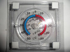 WINDOW THERMOMETER FOR EXTERNAL READING OF AIR TEMPERATURE