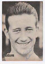 KEN Marrone West Ham United 1953-1967 mano originale firmato RIVISTA TAGLIO / CARD