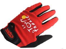 Fahrrad-Handschuhe und -Fäustlinge in Rot