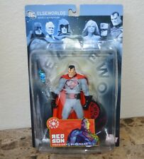 Elseworlds Series 2 Red Son President Superman 6in Action Figure DC Direct Toys