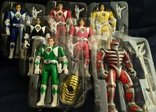Bandai Mighty Morphin Power Rangers + Evil Light Lord Zero Action Figures