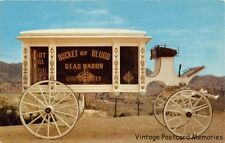 VIRGINIA CITY NV 1961 Famous Bucket of Blood Dead Wagon VINTAGE NEVADA GEM+++
