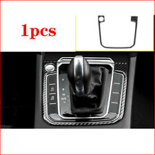 For VW Passat Variant B8 2017 2018 Real Carbon Fiber Gear Shift Box Frame Trim