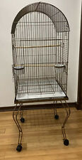 Hansel Dome Top Parrot Bird Cage With Stand