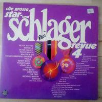 die grosse star- und schlager revue 4  Doppel LP Vinyl Schallplatten