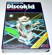 1984 BANDAI Robotec 55 DISCO KID Robot Model Kit Dancing Sony Walkman WM Speaker