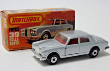 No.39 1979 Matchbox Lesney Superfast Silver Shadow II 'Argent' 1:64 Echelle en