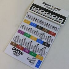 DAPROFE Note Map 61 Key Piano/Keyboard Note Position Scale Guide Map Stickers