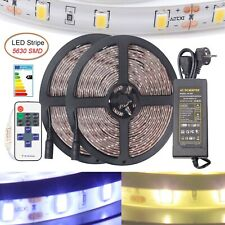1-10m LED Strip e Leiste Streifen Band 5630 Licht Leuchte Lichterkette Netzteil