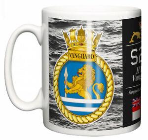 HMS Vanguard Ceramic Mug, Strategic Class Submarine Pennant S28