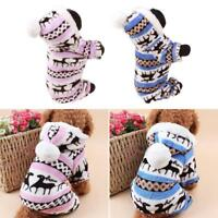 Winter Dog Costumes Pet Clothes Coats for Small Large Dogs Warm