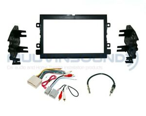Radio Stereo Installation Dash Kit Combo 2DIN + Wire Harness + Antenna F74