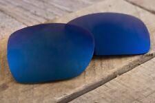 Dark Ocean Blue Cobalt Mirrored Replacement Sunglass Lenses for Oakley Deviation