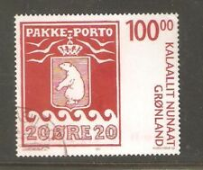 2007   GREENLAND  -  SG  530  -  PARCEL POST CENTENARY - USED