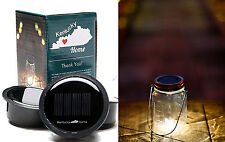 3 Pack Solar Mason Jar Lid Insert LED Light for Glass Jars and Garden Decor