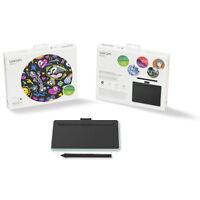 Wacom Intuos Creative Pen Tablet with Bluetooth - Small, Pistachio