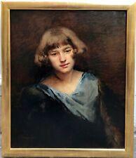 Adrien MOREAU-NÉRET 1860-1944 Portrait d'une jeune fille Musée d'Orsay