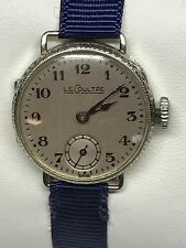 Antique Ladies 14k LeCoultre Watch, Early 1920's