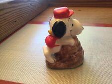 Vintage 1958/1966 Ceramic Snoopy Rock Climber Figure