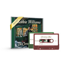 Robbie Williams The Christmas Present CD & Dual Cassette Autographed SIGNED NEW