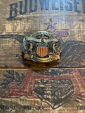 200th Anniversary United States Constitution Commemorative Brass Belt Buckle