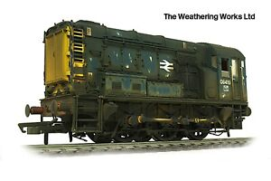 Boxed Hornby BR Blue Diesel Shunter Class 08 419 WEATHERED LOOK DCC Ready R2591