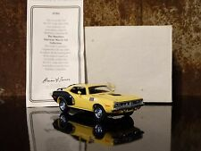 Matchbox 1971 Plymouth Cuda 440 6-Pack 1:43 Diecast Models of Yesteryear Car