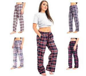 New Ladies Women Soft Cotton Pyjamas Night Wear Lounge Bottoms Pants Trousers