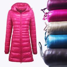 Acolchado Parka Chaqueta larga para mujer Ultraliviano el estilo abrigo señoras # Uniqlo