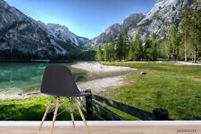 New Listing3D Forest Mountain Lake Wallpaper Wall Murals Removable Wallpaper 256