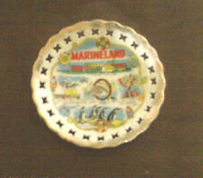 VINTAGE EFCCO  CHINA  PLATE-SOUVENIR OF MARINELAND OF THE PACIFIC