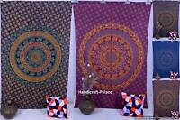 Indian Tapestry Hippie Wall Hanging Mandala Tapestries Dorm Decor Twin Bedspread