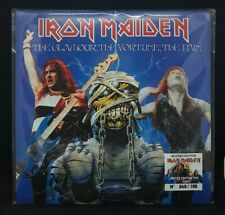 LP IRON MAIDEN - THE GLAMOUR,THE FORTUNE,THE PAIN - RED VINYL N° 049/100
