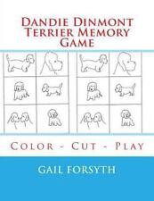 Dandie Dinmont Terrier Memory Game : Color - Cut - Play by Gail Forsyth.