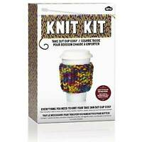 NPW Knitting Knit Kit Different Types Instructions Wool Needles Childrens Crafts
