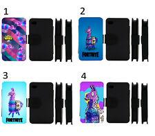 Llama Loot iPhone Flip / Wallet Case IP5/6/7/8/X/XR/ Samsung Galaxy S5/6/7/8/9