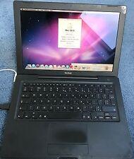 "Apple MacBook Black Core Duo 2GHz 13"" 2GB HD"