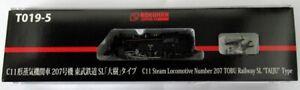 Z gauge T019-5 C11 type 207 machine SL Taiki railroad model From Japan Used F/S