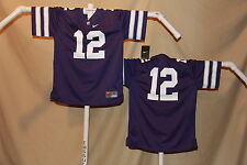 KANSAS STATE WILDCATS  Nike  #12  FOOTBALL JERSEY  Youth Large  NWT  $55 retail