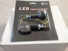 LED Motorcycle Turn signal indicators  Amber E-Mark LED indicators