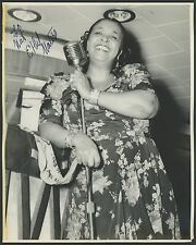Ethel WATERS (Jazz): Signed Photograph