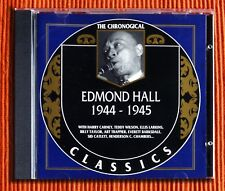 EDMOND HALL 1944 - 1945   CD  The Classics Chronological Series 872  Like New
