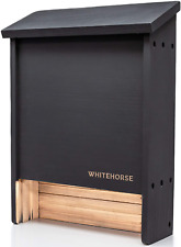 Premium Cedar Bat House - A 2-Chamber Bat Box That Is Built To Last - Enjoy A H