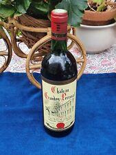 Belle bouteille de vin ancienne Château Gandoy - Perrinat 1983 BORDEAUX