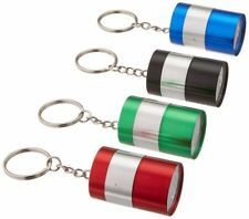 Flashlight Keychain 9 LED Light Key Chain Mini Red Black Or Green